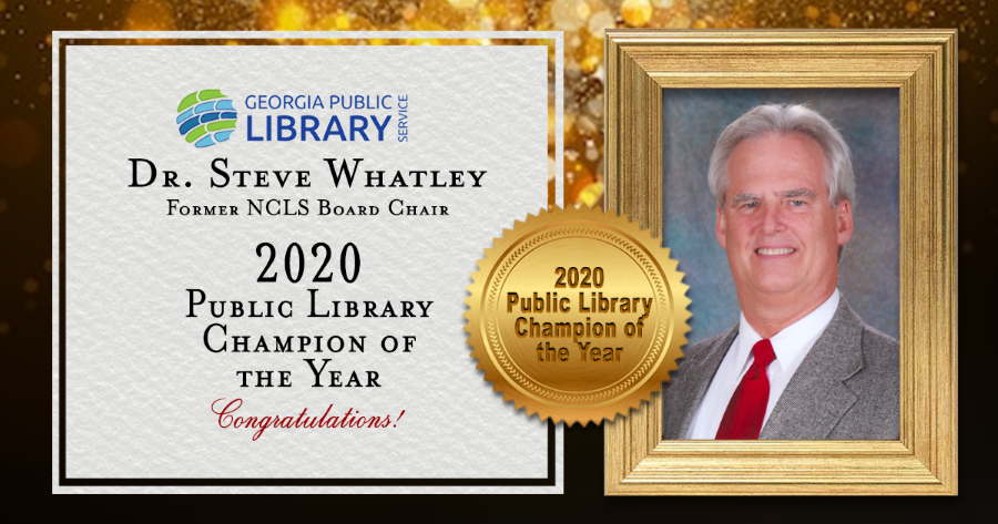2020 Public Library Champion of the Year