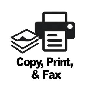 Print, Copy, Fax